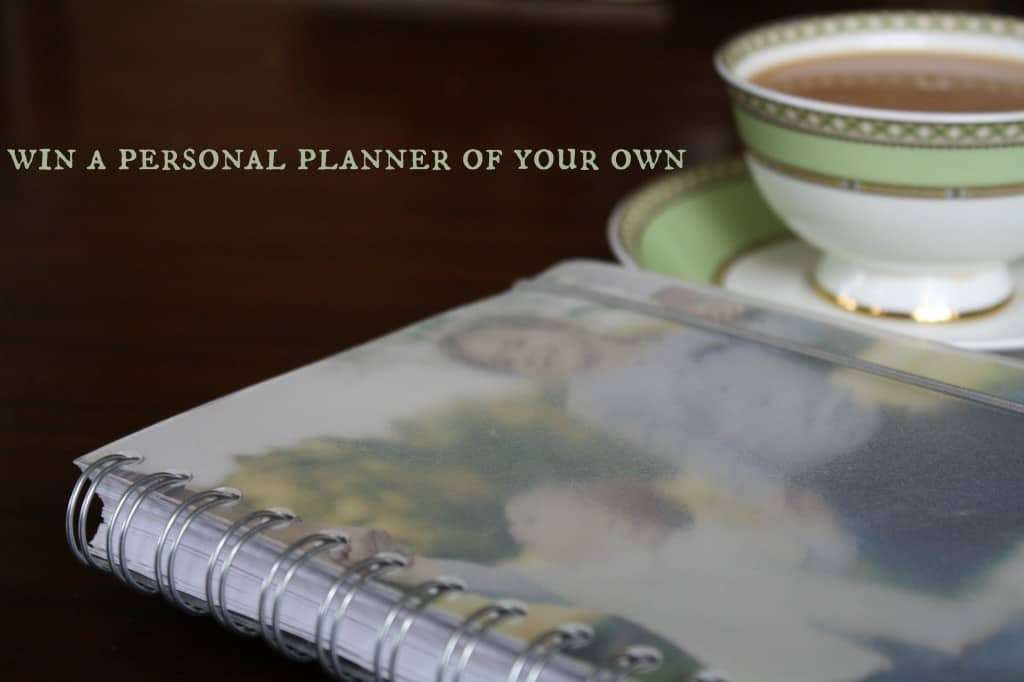 win a personal planner of your own