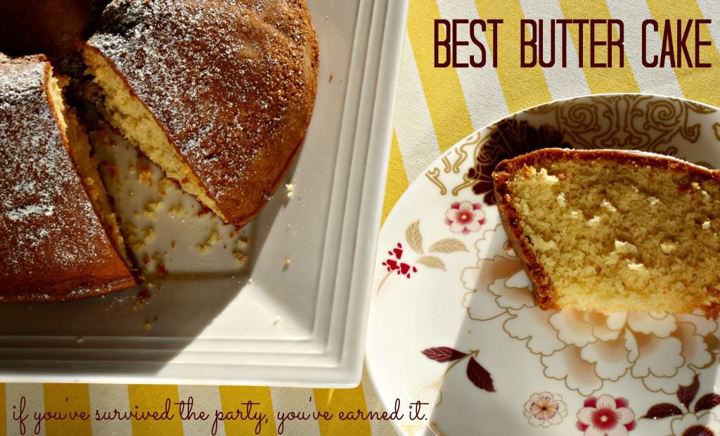 best butter cake - if you only pin one recipe today, make it this one - perfect base for kids birthday cakes