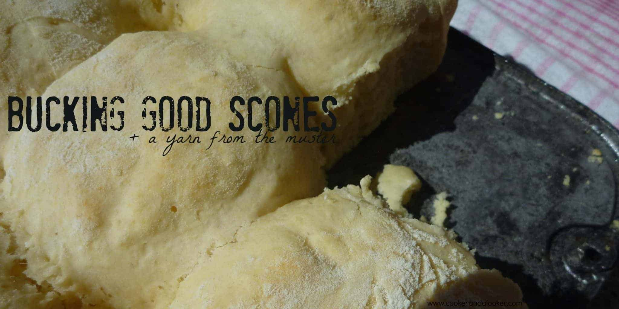 bucking good scones - Cooker and a Looker