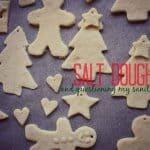 salt dough + questioning my sanity