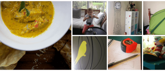 Goan Fish Curry + the numbers game
