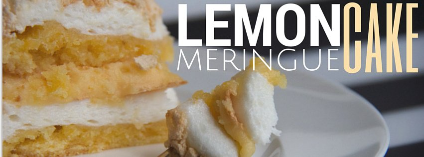 Mum's problem-solving lemon meringue cake