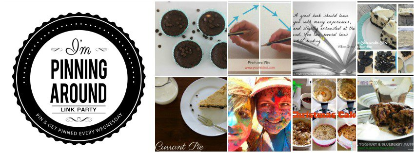 I'm Pinning Around Pinterest Link Party
