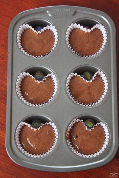 heart shaped muffins tastes better from scratch