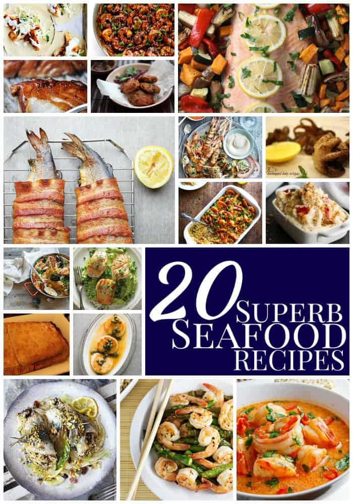 20 superb seafood recipes   rom salmon rissoles to lobster mac and cheese - there's something for everyone here!