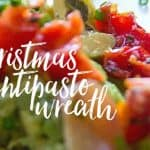Christmas Antipasto Wreath