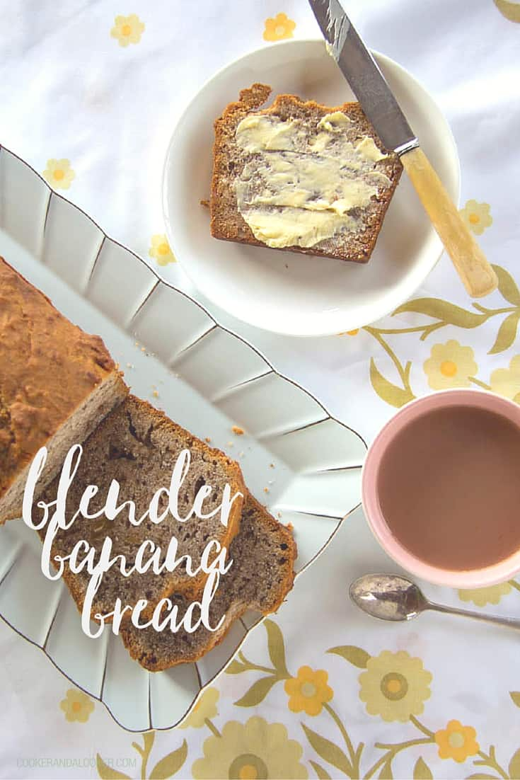 If your kids hate brown bananas as much as Donald Trump hates, well.… everyone, fear not! I have the solution: turn them into blender banana bread.