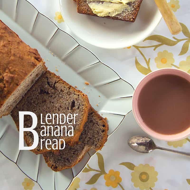 blender banana bread social