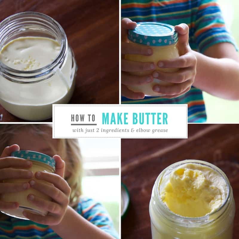 how to make butter 2 ingredients and elbow grease social