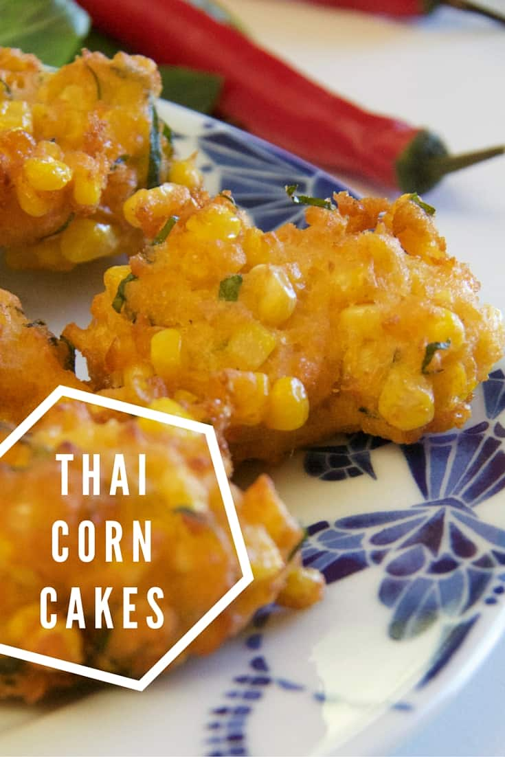 thai corn cakes - fresh and flavoursome