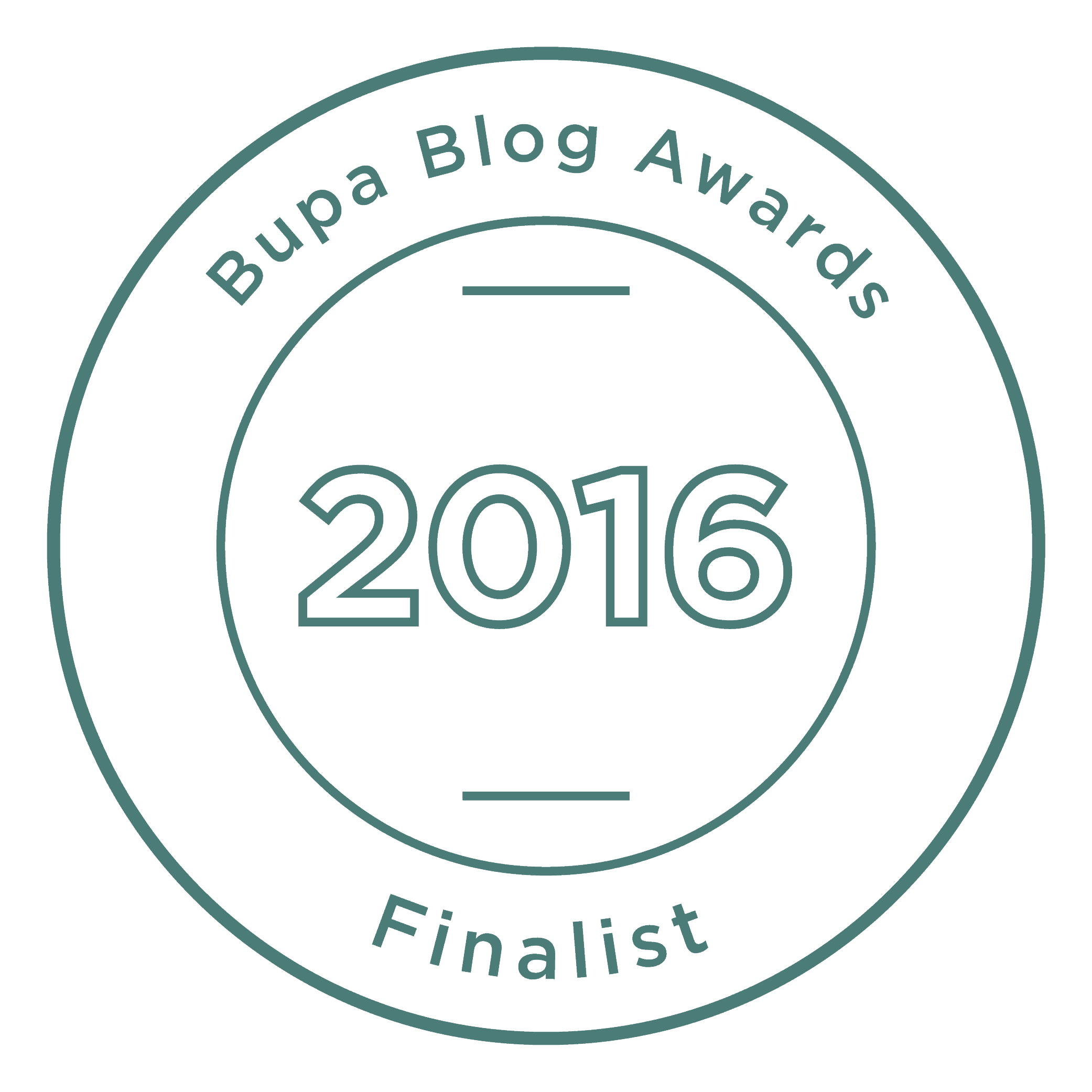 BUPA Blog Awards 2016