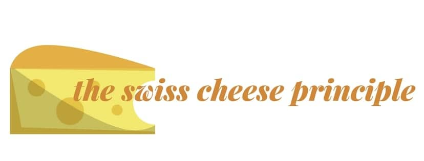 the swiss cheese principle + a recipe for hand chips